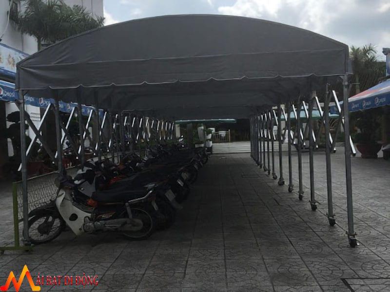nhà bạt di động che xe máy