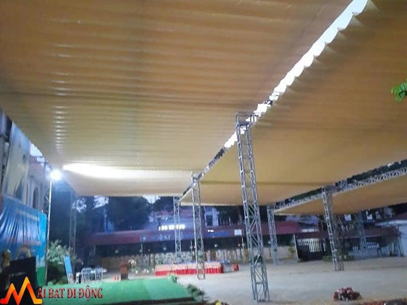 mái kéo di động nhà hàng